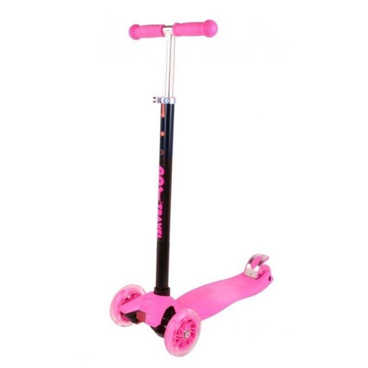Cамокат GO Travel maxi розовый