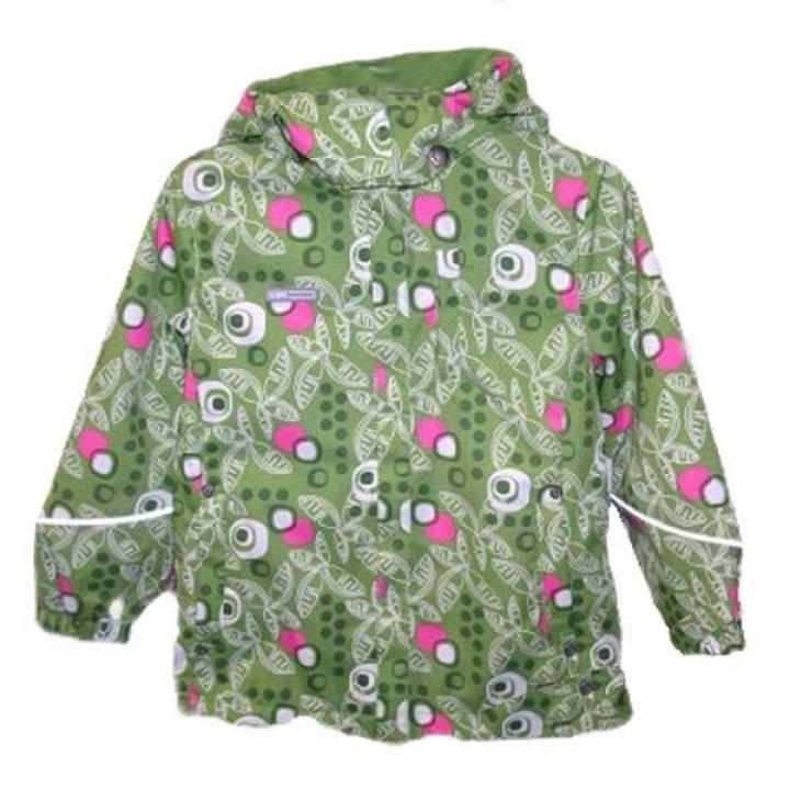 Пальто для девочек LENNE POLLY размер: 92, зелёный с узором