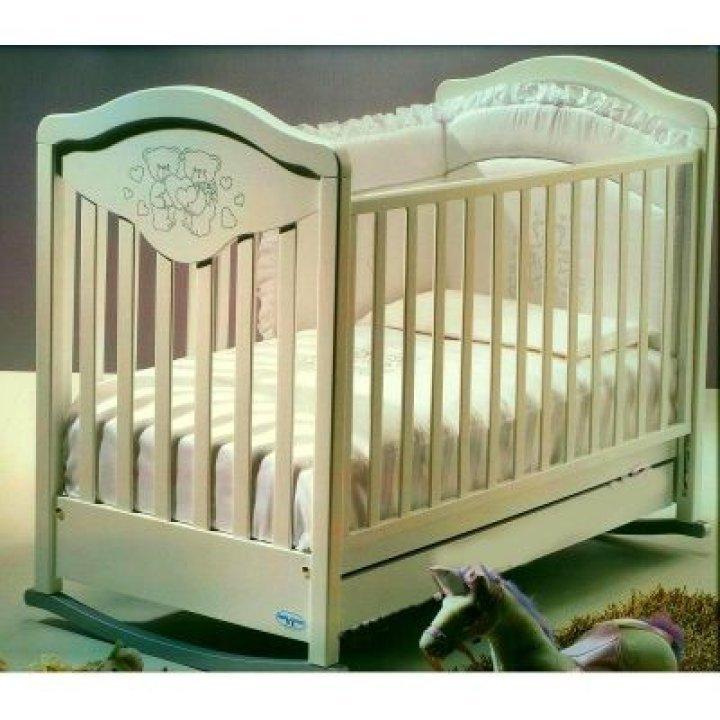 Кроватка Baby Italia GIOCO LUX слоновая кость