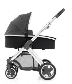 Универсальная коляска 2 в 1 BabyStyle Oyster 2 Tungsten Grey / Mirror Black