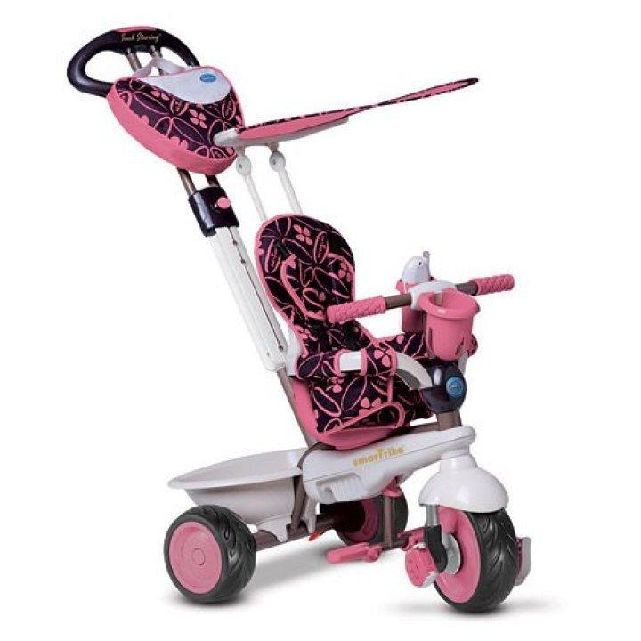 Детский велосипед Smart Trike Dream 4 в 1 розовый