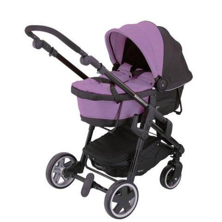 Универсальная коляска 2 в 1 Kiddy CLICKN MOVE 3 Lavender