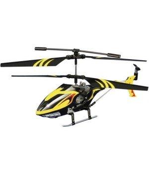 Вертолет на ИК-управлении Auldey Lightening Falcon 20 см с гироскопом желтый
