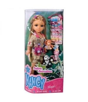 Кукла Nancy Famosa Защитница животных