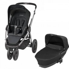 Коляска 2 в 1 Maxi Cosi Mura 3 Plus (Foldable) Black Raven