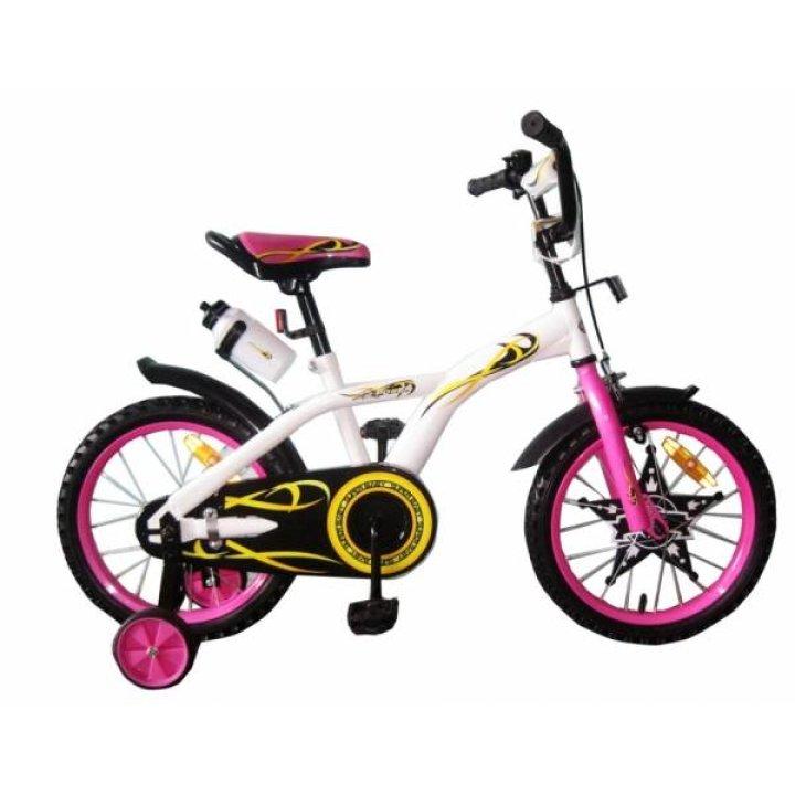 Велосипед двухколёсный Babyhit Eagle White with Pink