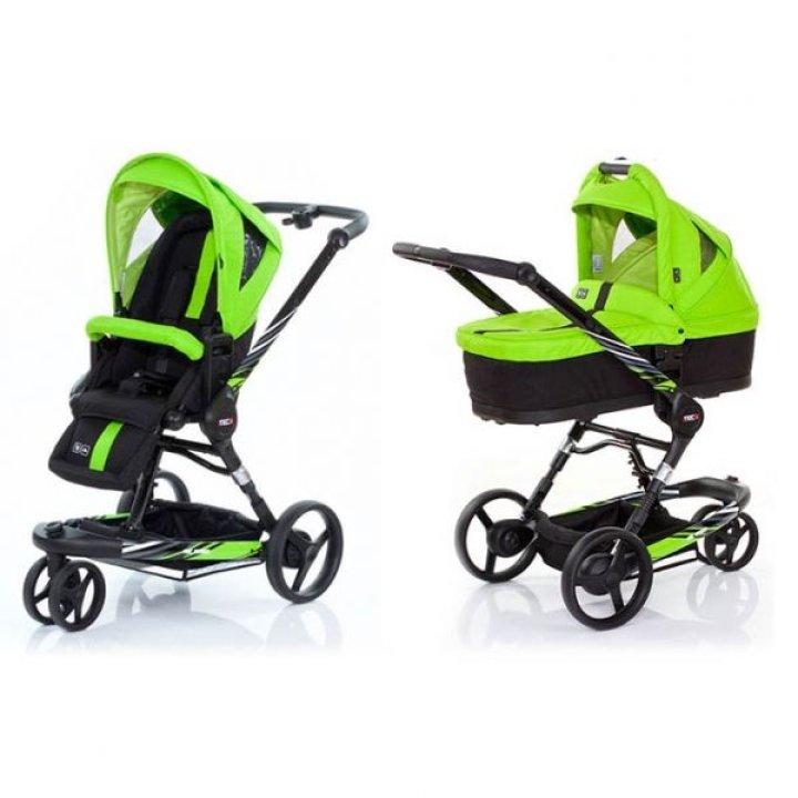 Универсальная коляска 2 в 1 ABC design 3 Tec Plus Lime