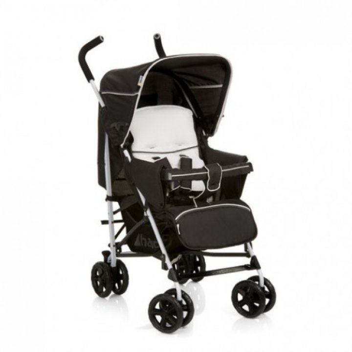 Прогулочная коляска трость Hauck Sprint White/Caviar