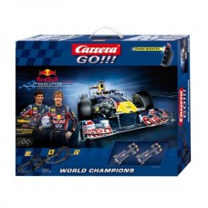 Гоночная трасса Carrera Go - Red Bull Racing World Champions 192 х 60 см, 5.4 м