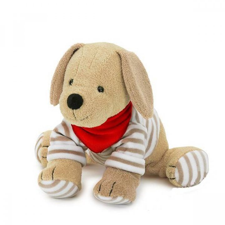 Мягкая игрушка-погремушка Sterntaler Собачка