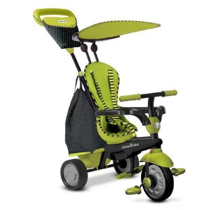 Детский велосипед Smart Trike Glow 4 в 1 Зеленый
