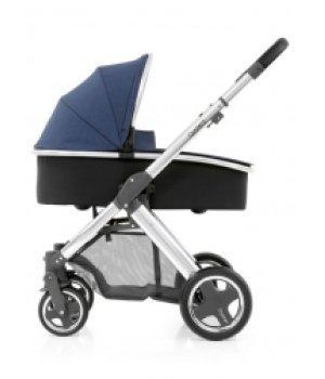 Универсальная коляска 2 в 1 BabyStyle Oyster Max Oxford Blue / Mirror Black