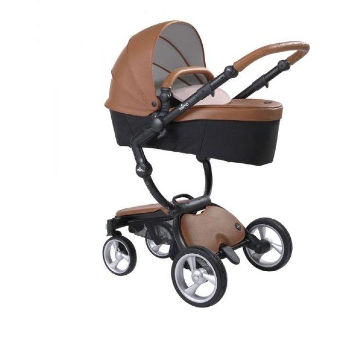Универсальная коляска 2 в 1 Mima Xari Flair / Camel (black шасси)