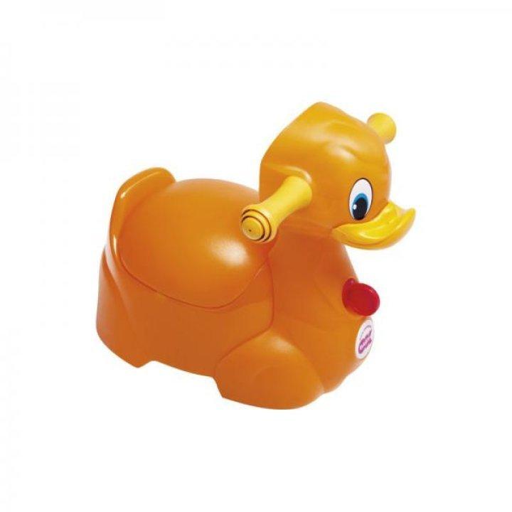 Горшок OK Baby Quack оранжевый