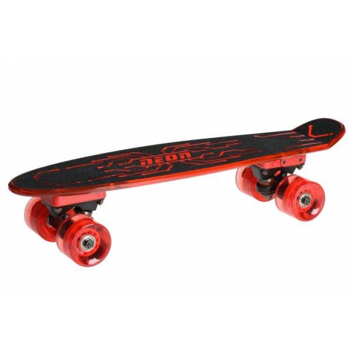 Скейтборд Neon Hype Красный N100788