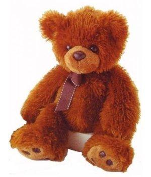 Мягкая игрушка Aurora Медведь коричневый (37 см)