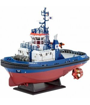 Конструктор 1:144 Revell Model Set Портовый буксир Harbour Tug Boat Fairplay I, III, X, XIV
