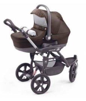 Универсальная коляска 3 в 1 CAM CORTINA X3 TRIS EVOLUTION 231 (коричневый)
