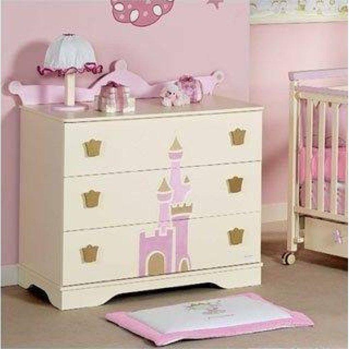 Комод Micuna Petite Princesse CO-1128 Розовый