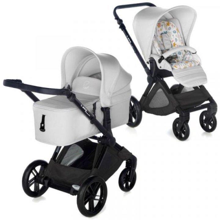 Детская коляска 2 в 1 Jane CROSSWALK MICRO T30 Pearl