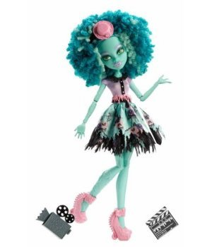 Кукла Mattel Monster High из м/ф Страх, камера, мотор Хани Свомп