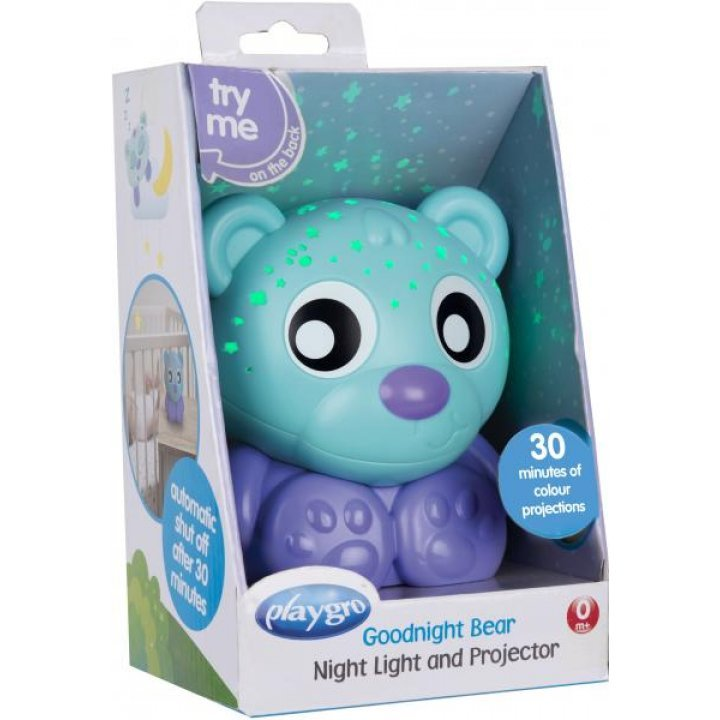 Ночник-проектор Playgro Мишка