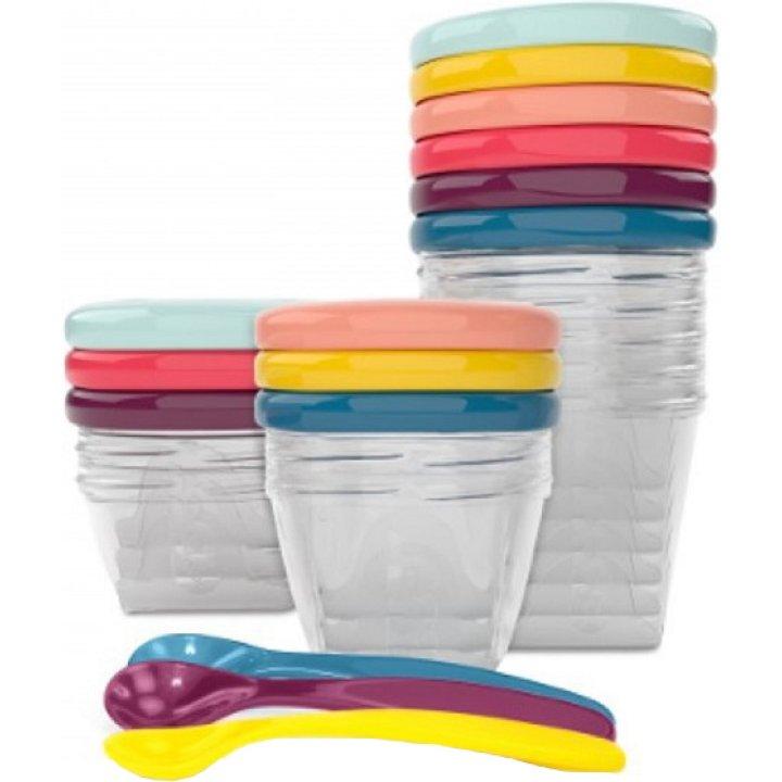 Набор контейнеров для еды Babymoov Babybols Multi Set (15 предметов)