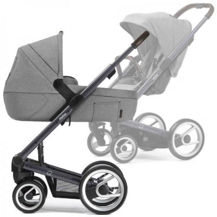 Универсальная коляска 2в1 Mutsy I2 Farmer Mist / Dark Grey