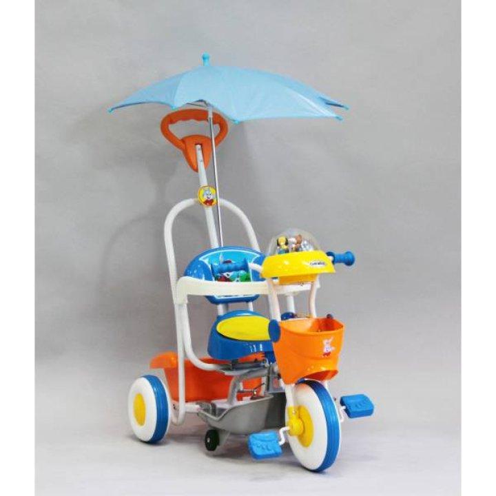 Велосипед Geoby SR61S BYT (Синий с оранжевым)