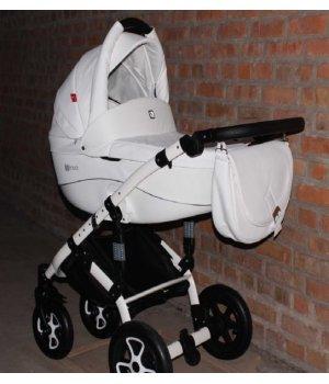 Универсальная коляска 2 в 1 Tutek Trido ECO NTRE 5 - B/B (Белая)