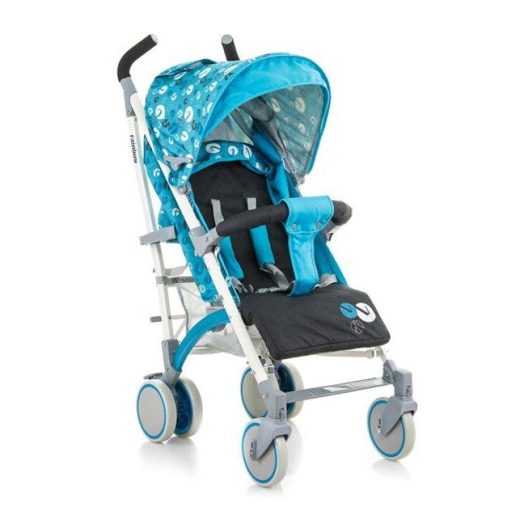 Прогулочная коляска трость Babyhit Rainbow (D200) Blue Grey