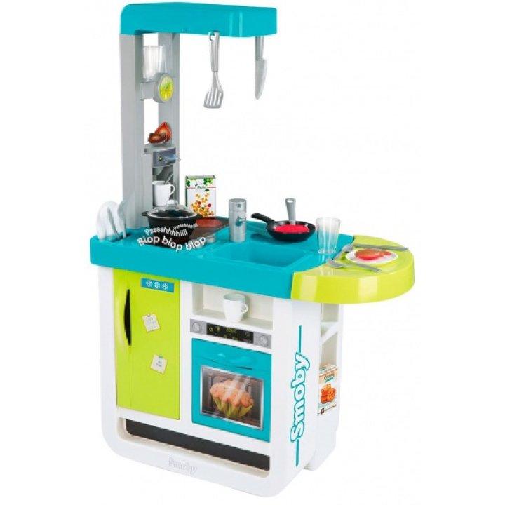 Интерактивная кухня Cherry Blue, Smoby Toys
