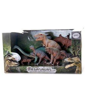 Игровой набор Динозавры, HGL Серия А