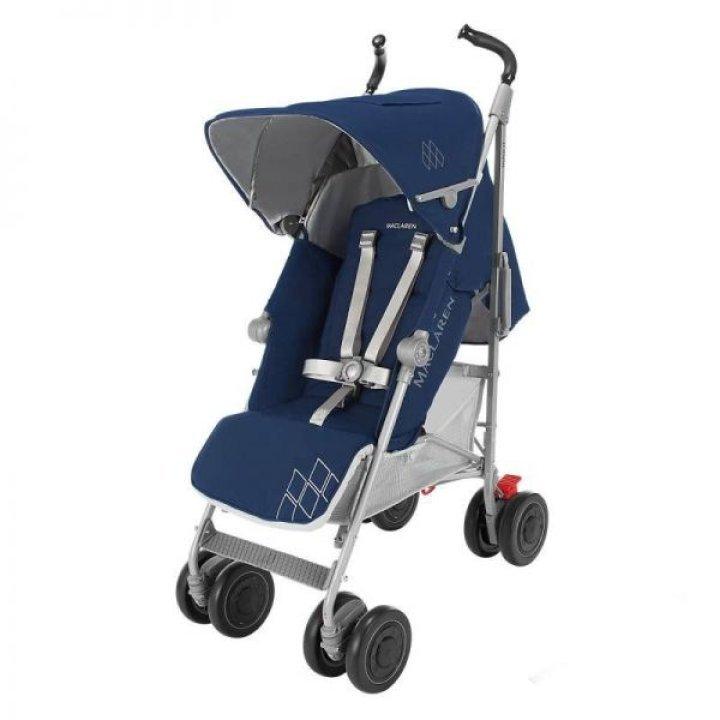 Прогулочная коляска Maclaren Techno XT Medieval Blue/Silver 2016