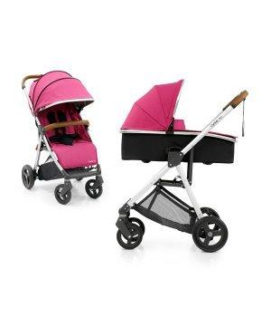 Универсальная коляска 2 в 1 BabyStyle Oyster Zero Wow Pink