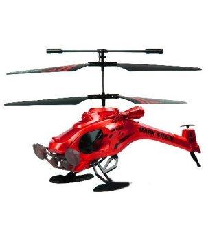 Вертолет на ИК-управлении Dark Stealth 22 см с гироскопом 3-канальный Auldey красный