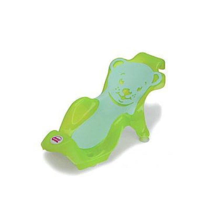 Поддерживающая горка для купания OK Baby Buddy Зеленый