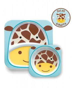 Набор тарелок Skip Hop Zoo Жираф (252213)