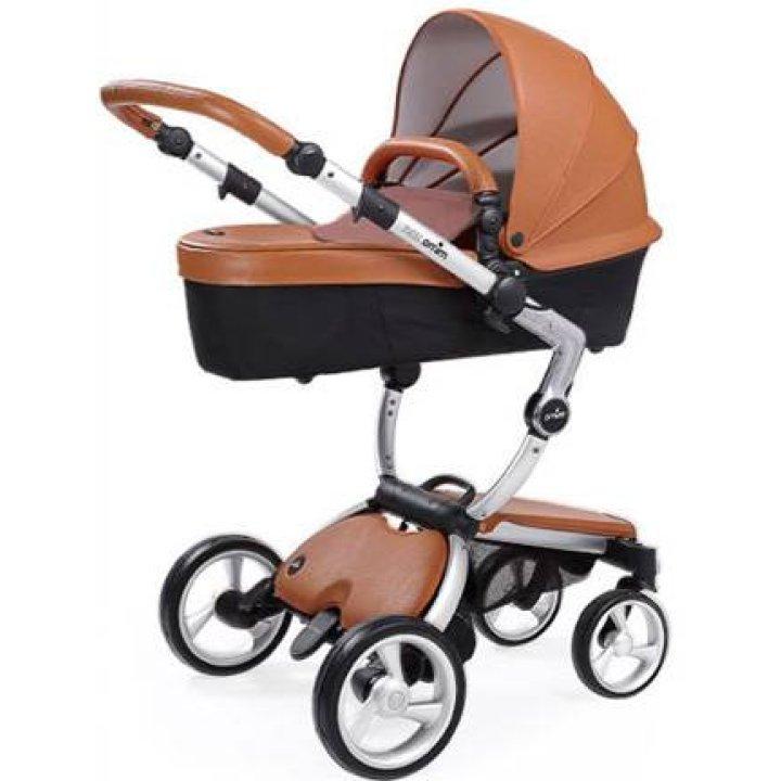 Универсальная коляска 2 в 1 Mima Xari Flair / Camel (silver шасси)