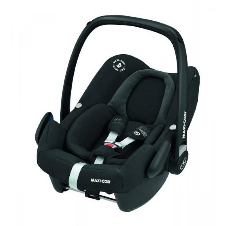 Автокресло Maxi-Cosi Rock Frequantly Black Черное