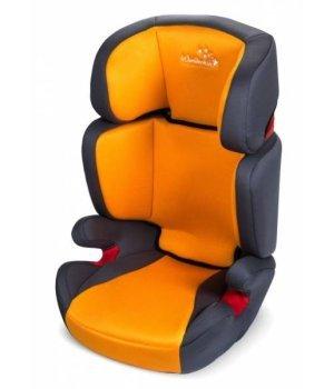 Автокресло Wonderkids Rookie оранжевый/серый