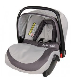 Автокресло Caretero Fly grey