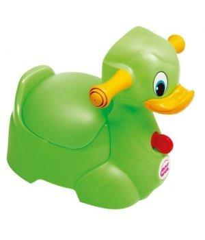 Горшок OK Baby Quack Салатовывый