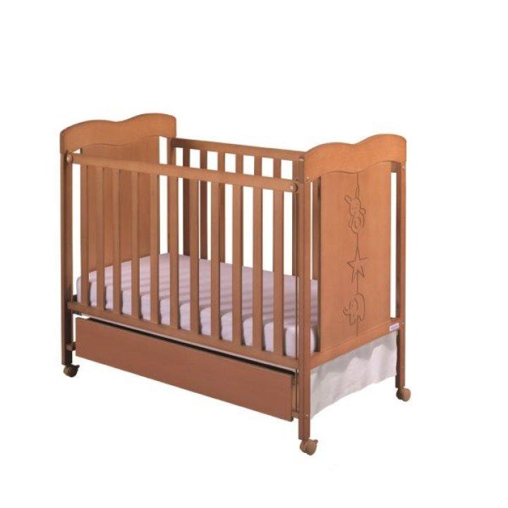 Детская кроватка Micuna ROSIE медовый