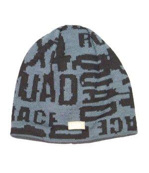 Детская вязанная шапочка LENNE QUAD размер: 52, черный принт