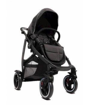 Прогулочная коляска Graco Evo XT Rock (Черная с серым)