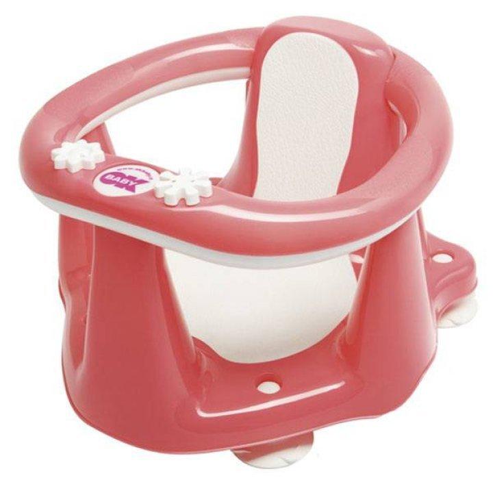 Сидение для ванночки OK Baby Flipper Evolution розовый