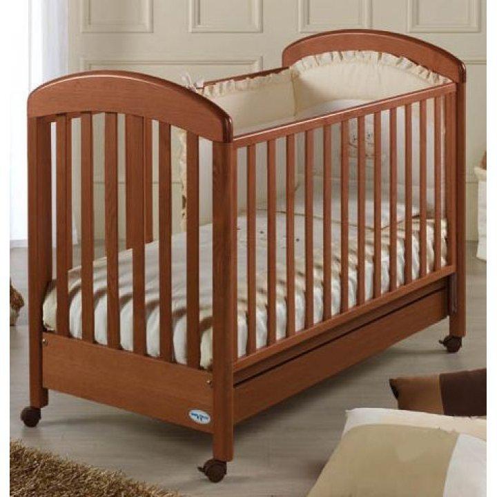 Кроватка Baby Italia GIULY орех