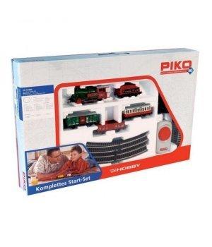 Стартовый набор модельной железной дороги Piko Рождественский поезд с паровозом
