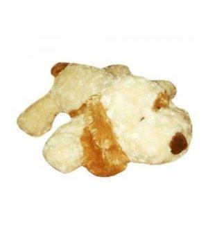 Мягкая игрушка Grand Собака белая с рыжим ухом (56 см)